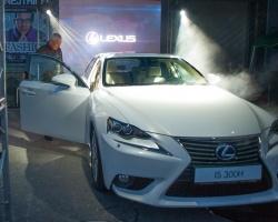 В Волгограде с успехом прошла презентация нового Lexus IS