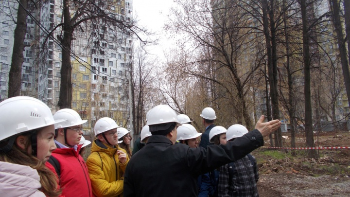 Пермские школьники приняли участие в инженерно-строительном батле
