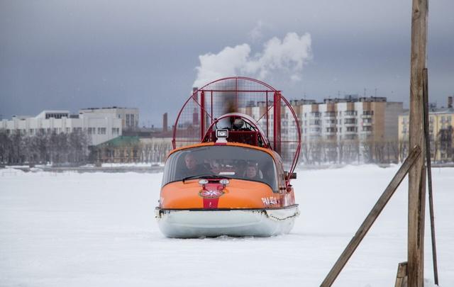 Из Архангельска в Реушеньгу можно будет добраться на аэросанях