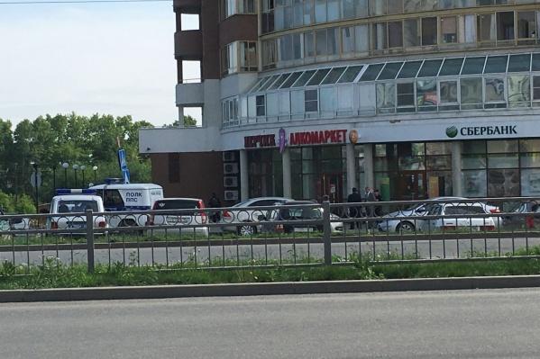 Налётчики пришли в банк на Щербакова.