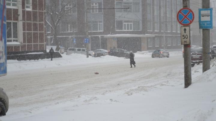 Метель, снег и сильный ветер: МЧС предупредило об ухудшении погоды в Прикамье