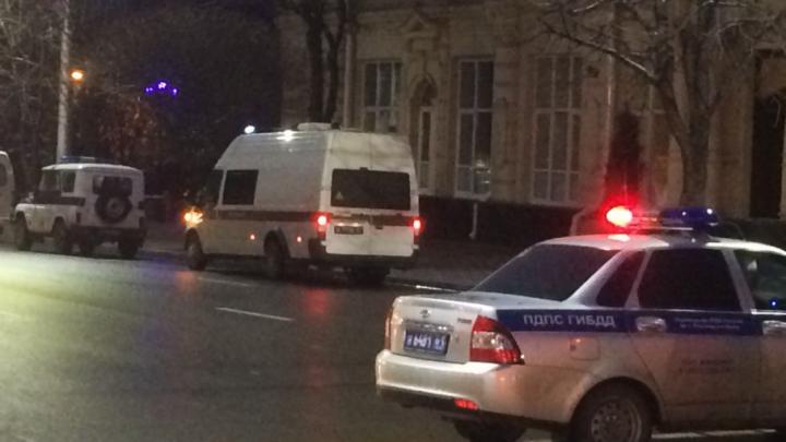 Из-за оцепления горадминистрации центр Ростова превратился в одну большую пробку