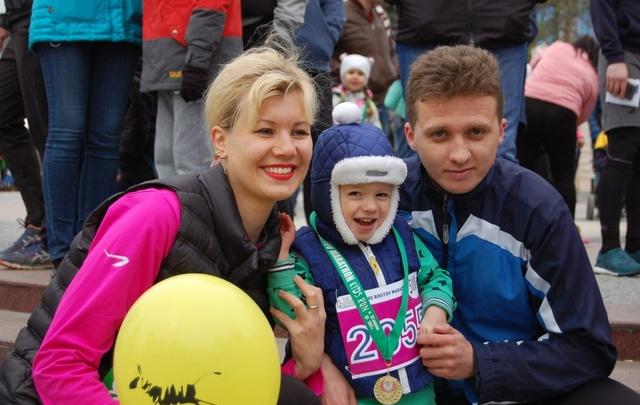 Марафонский забег прошел на ростовской набережной