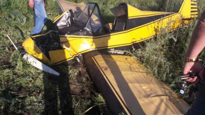 Крушение самолёта в Самарской области произошло из-за нехватки топлива