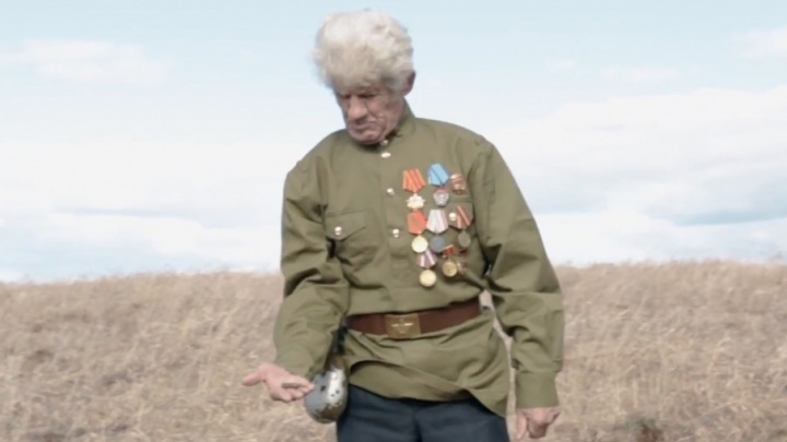Пермская кавер-группа ко Дню Победы сняла клип на месте гибели летчика-ветерана
