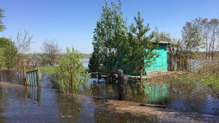 В Тюменской области остаются подтопленными 54 дома