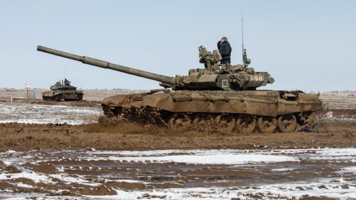 Министерство обороны выдало боевой танк Руднянскому району Волгоградской области