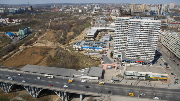 В Волгограде пойму реки Царицы хотят застроить небоскребами