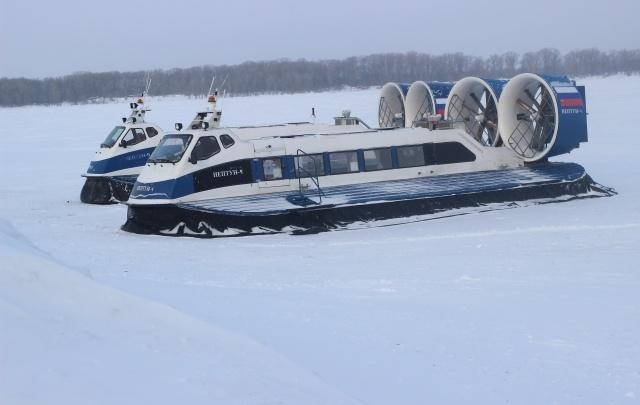 В Самаре закрыли движение катеров на воздушной подушке до Винновки