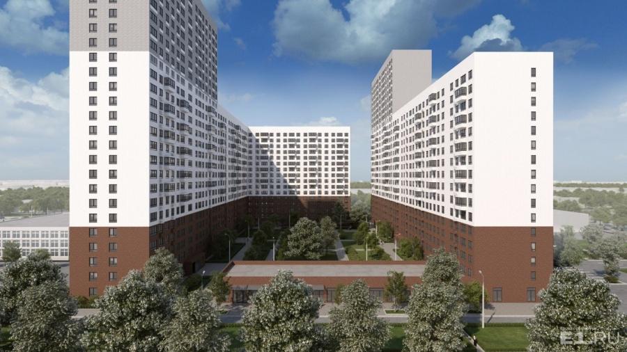 """ГК """"ПИК"""" часто строит дома без балконов, но в проекте для Екатеринбурга они сохранены, и их достаточно много."""