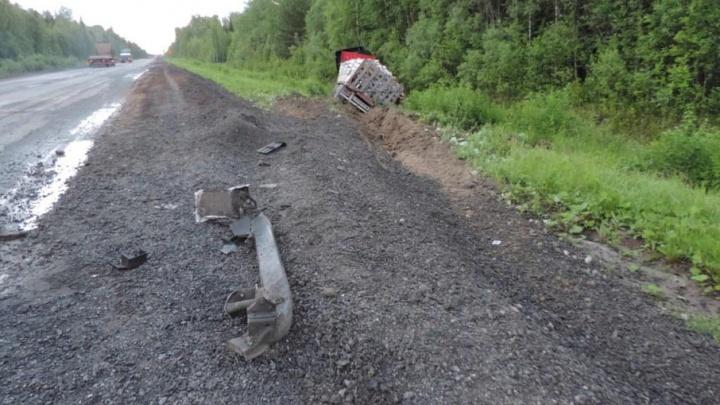 Восьмилетняя девочка впала в кому после аварии на трассе Тюмень–ХМАО
