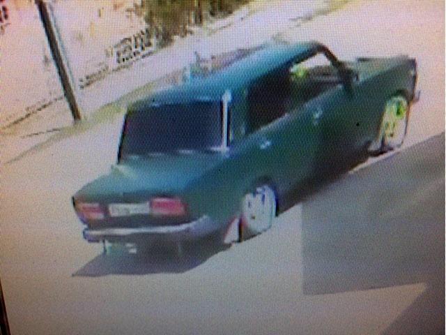 Камеры наблюдения зафиксировали автомобиль похитителей