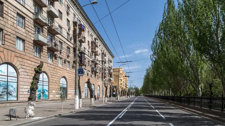 Фасады зданий в центре Волгограда либо покрасят, либо помоют