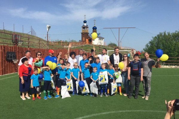 Игроки ФК «Ростов» в Константиновске