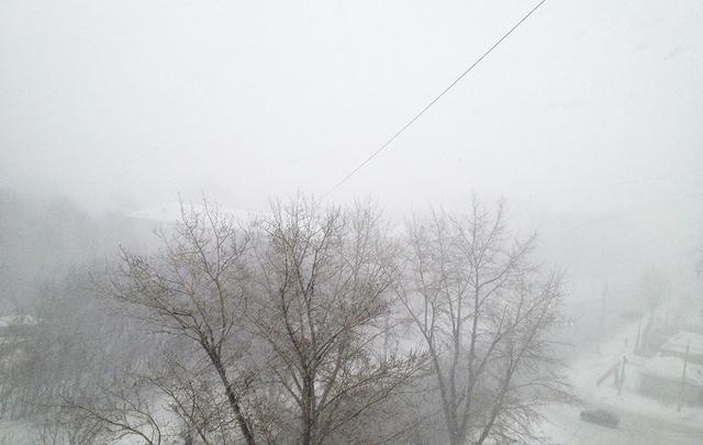 В пятницу в Поморье продолжится снегопад