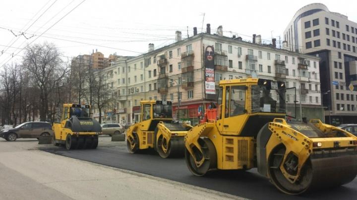 Октябрьскую площадь в Перми отремонтировали раньше срока