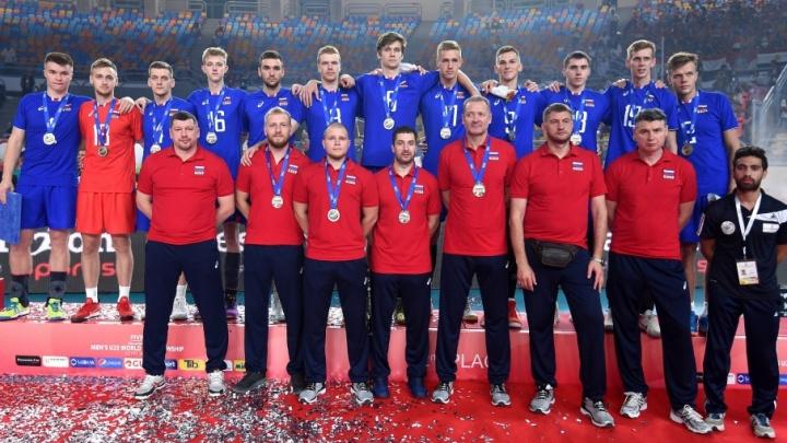 Игрок волейбольной команды «Нова» из Самары выиграл серебро на чемпионате мира