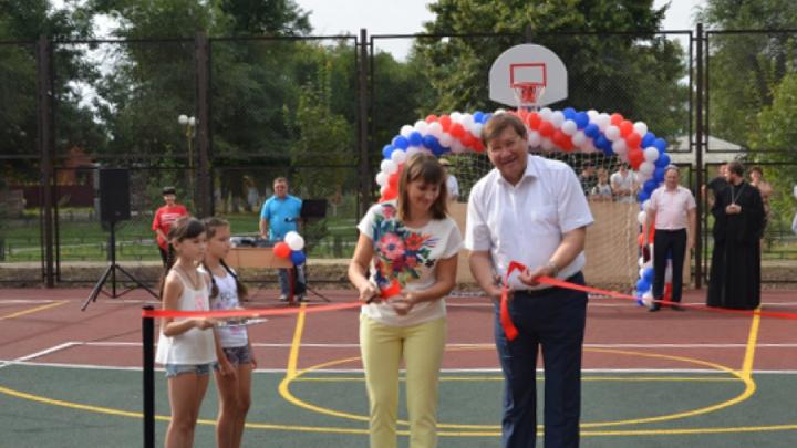 В Ростовской области откроют 13 спортивных площадок