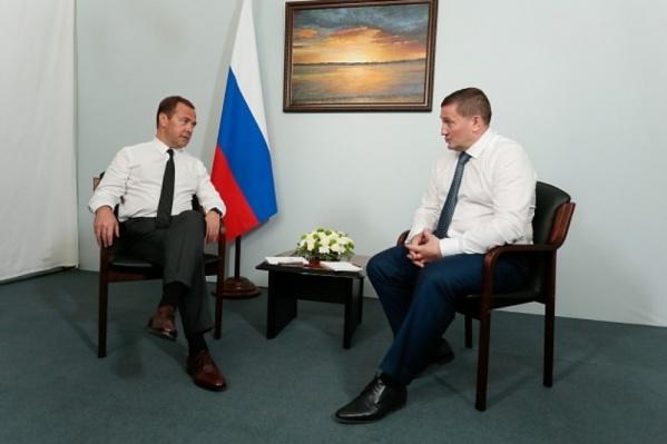 Ситуацией в Волгоградской области премьер остался доволен