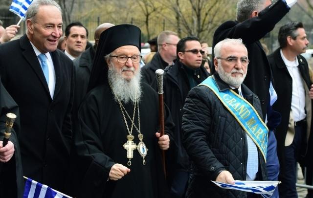 Иван Саввиди стал «гранд-маршалом» парада греков в Нью-Йорке