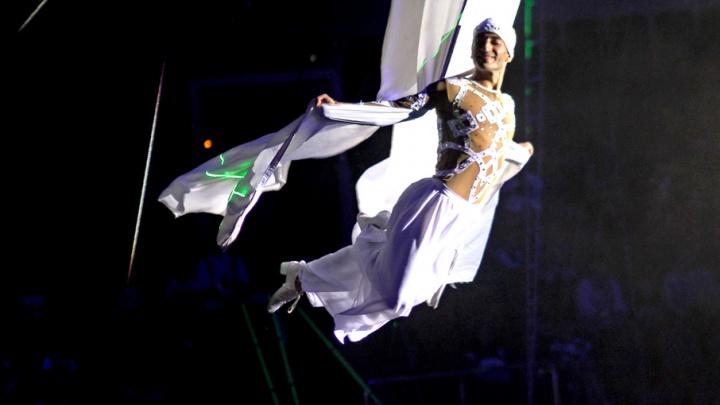 Принцесса Жасмин и блестящий бегемот: в цирк приехало новое шоу