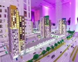 Прошел закрытый показ современного квартала «Новый центр»