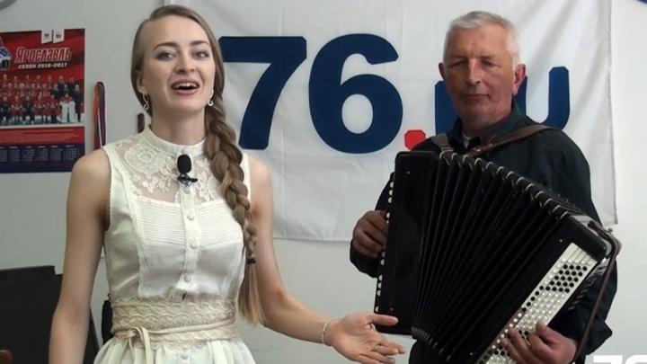 Новый гимн Ярославля впервые исполнили журналисты 76.ru