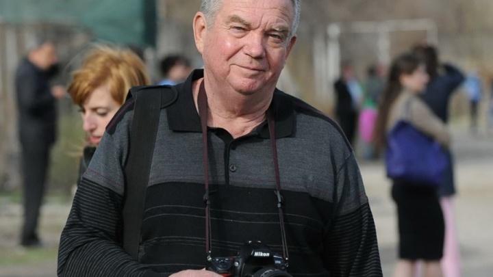 В Волгограде ушел из жизни известный фотокорр Олег Литвин