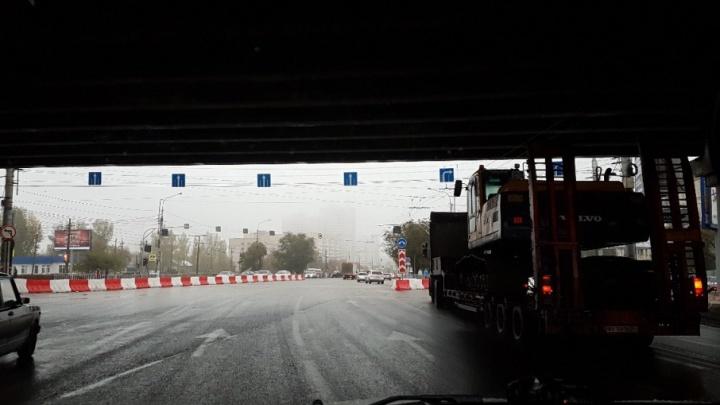 Волгоградцы предрекают огромные пробки на Самарском разъезде