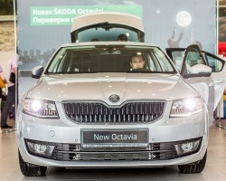 В автоцентре ŠKODA «АГАТ Виктория» презентовали ŠKODA Octavia нового поколения
