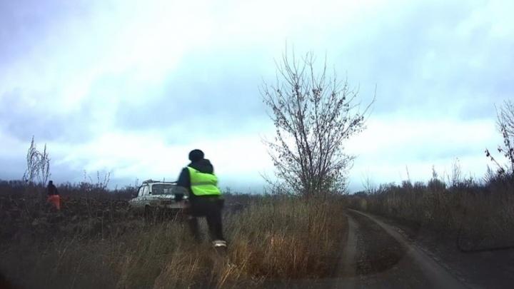 Пытался уйти полями: в Самарской области водитель устроил «гонки» с полицией