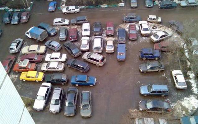 В «Звездном городке» парковки хватит всем