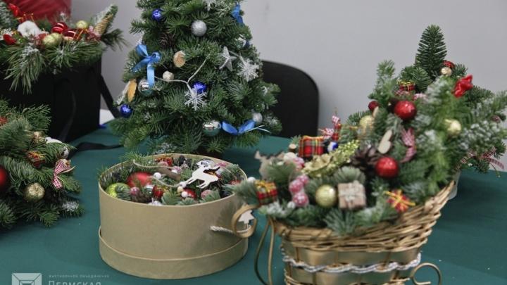 Радость на любой кошелёк: в Перми проходит «Ярмарка новогодних подарков»