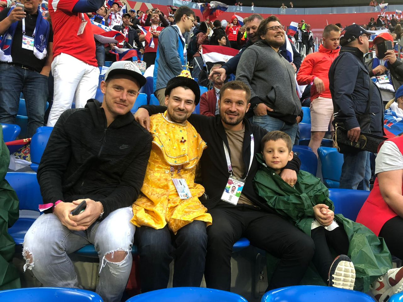 Виктор Файзулин с Томашем Губочаном