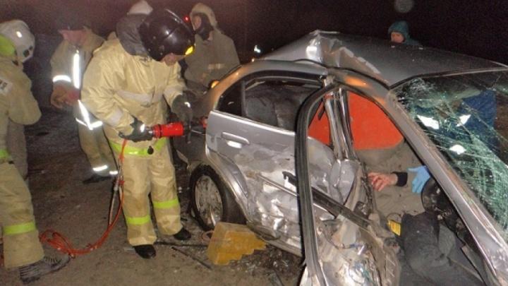 В ДТП на трассе в Котласском районе пострадали два человека