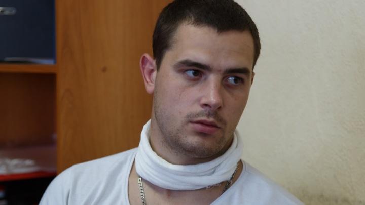 Иловлинец с перерезанным горлом настаивает, что стал жертвой жены полицейского