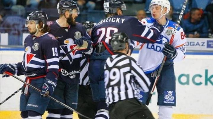 Тольяттинская «Лада» разгромила словаков в матче КХЛ