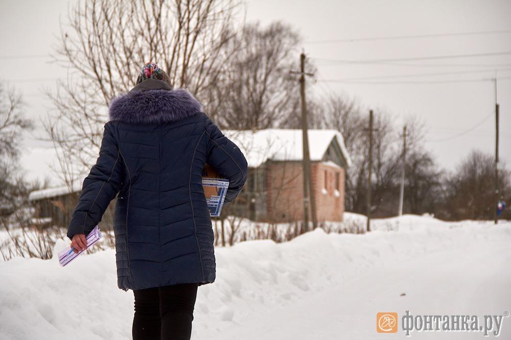 Ксения Малкина на работе
