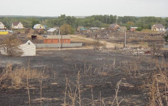 Хутор в Волгоградской области сгорел после учений на военном полигоне