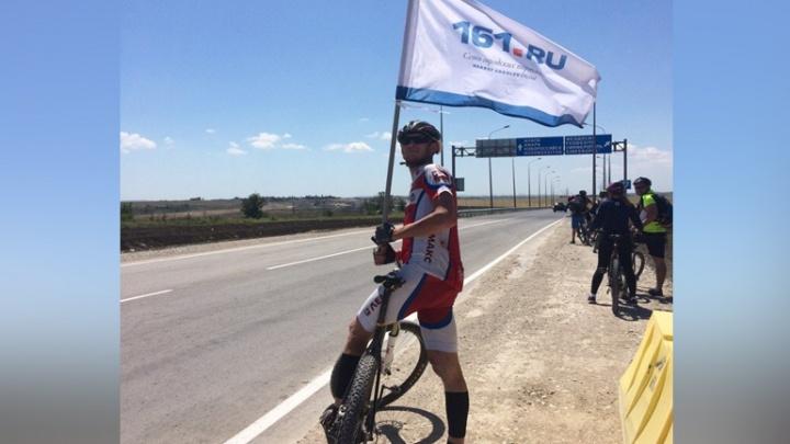 Ростовчане проверили, удобен ли новый Крымский мост для велосипедистов