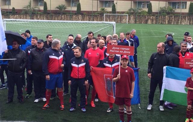 Ростовские чиновники завоевали серебряную медаль в турнире по футболу