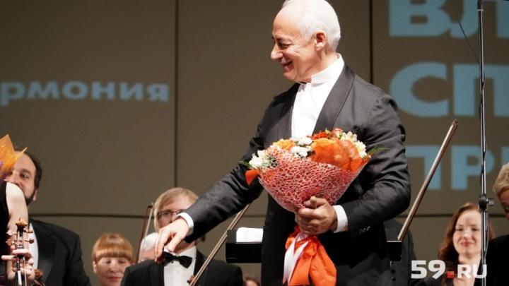 Маэстро Владимир Спиваков: «В Перми одна из лучших филармоний в стране, а хорошего концертного зала нет»