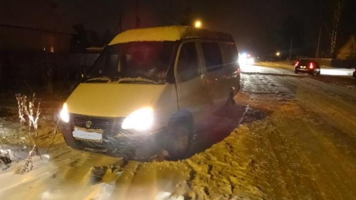 В Плесецке пожилая женщина погибла под колесами «Газели»
