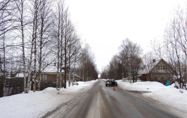 В Цигломени водитель иномарки сбил девятилетнего пешехода