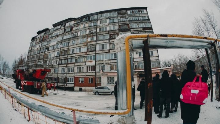 Крышу горевшего пансионата на Лесобазе восстановят за счёт бюджета