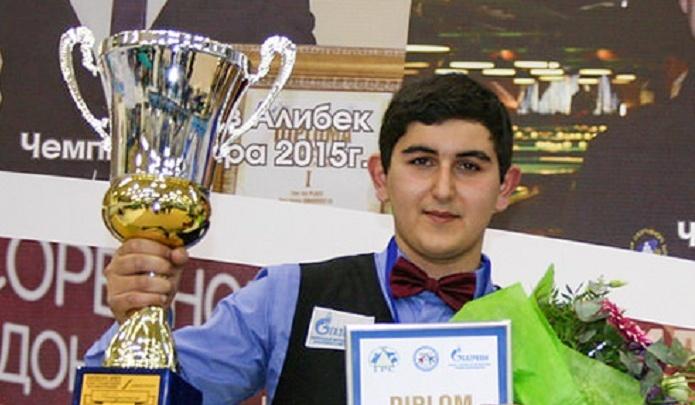 Три кубка подряд: 16-летний ростовчанин Иосиф Абрамов выиграл очередной чемпионат мира по бильярду