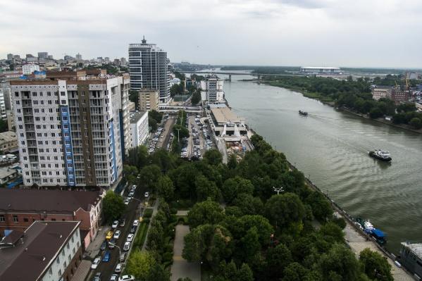 Набережная реки Дон