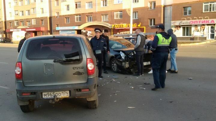 Маленький пассажир пострадал в ДТП в Ленинском районе