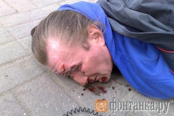 Александр Дружинин после задержания