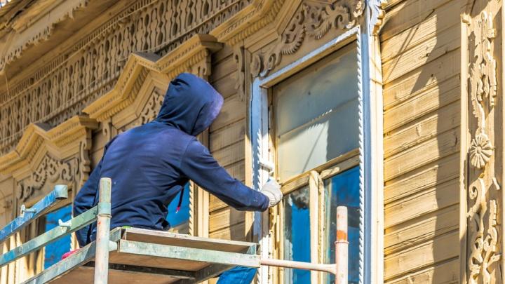 Ремонт фасадов на гостевых маршрутах Самары тормозит реклама
